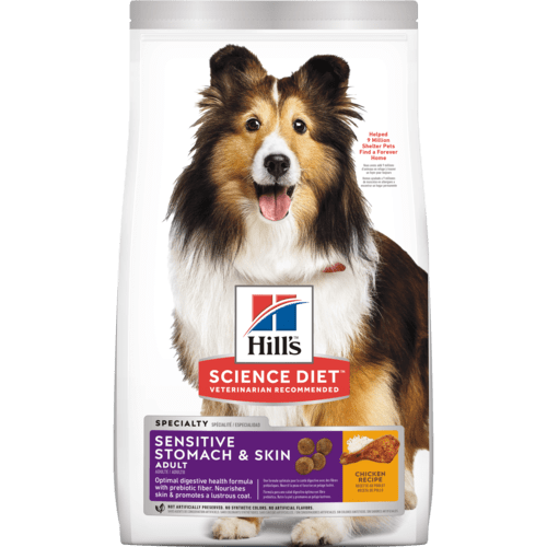 Adult Sensitive Stomach & Skin dog food