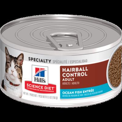 Adult Hairball Control Ocean Fish Entree cat food