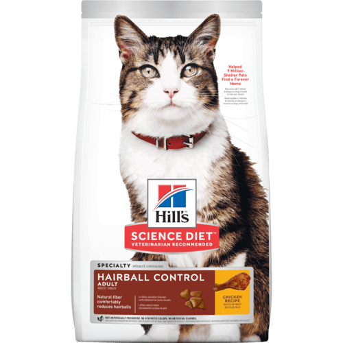 Adult Hairball Control cat food