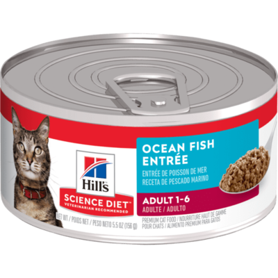 Adult Ocean Fish Entree cat food