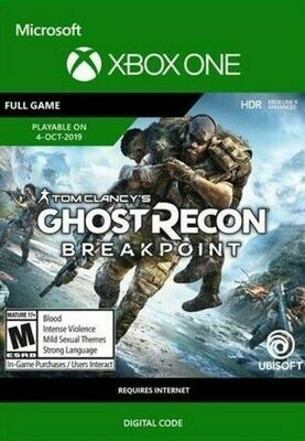 Videojuego Tom Clancy's Ghost Recon Breakpoint - Xbox One