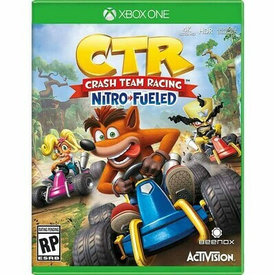 Crash CTR Team Racing Nitro Fueled Xbox One