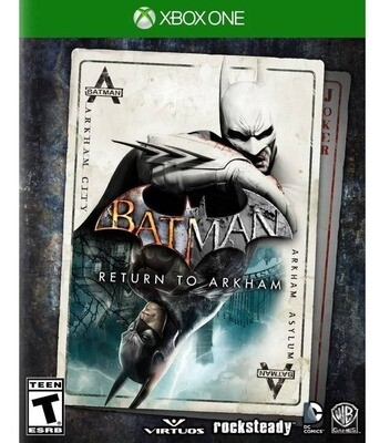 Batman Return To Arkham Juego Xbox One