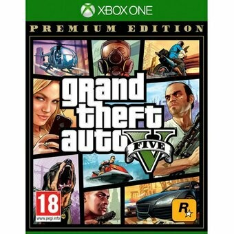 Grand Theft Auto V Gta 5 Premium Edition Xbox One Fisico