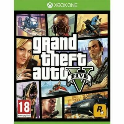 Grand Theft Auto V Gta V Juego Xbox One