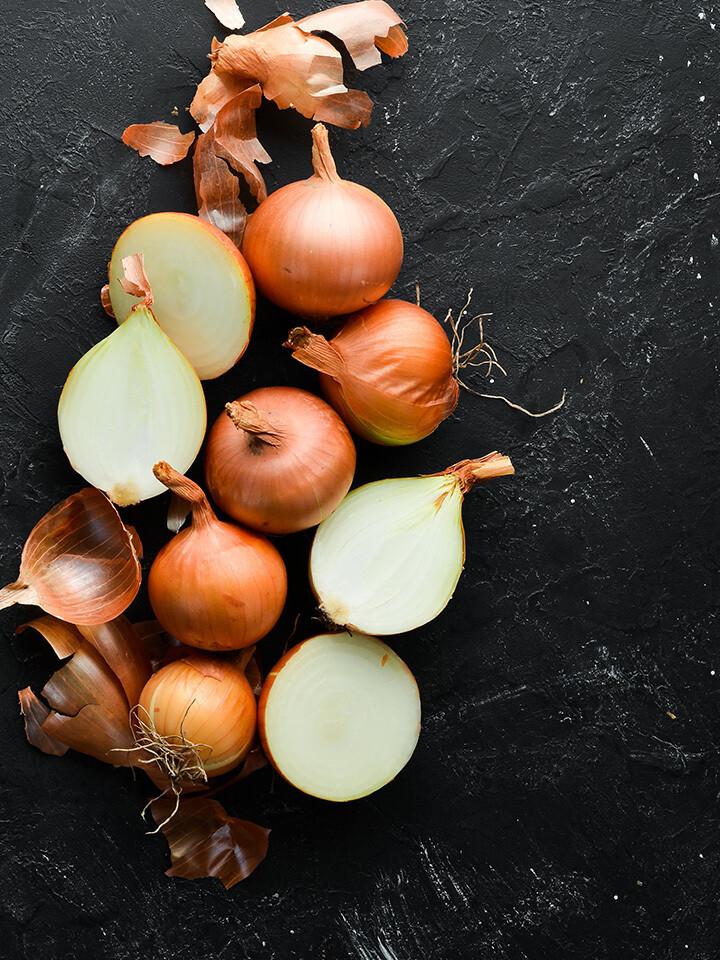 Caramelized Onion & Roasted Garlic Soup