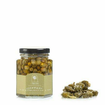 Câpres Petites À L'huile D'olive Extra Vierge 100g