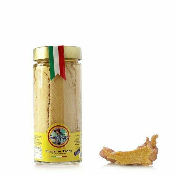 Filets de thon à l'huile d'olive 550G