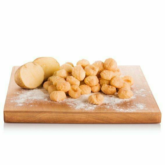 Gnocchi aux champignons et fromage asiago