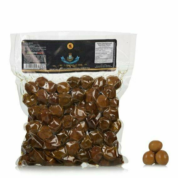 Olives noires à l'huile sous vide 500g