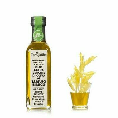 Huile d'olive extra vierge bio aromatisée à la truffe blanche 100ML