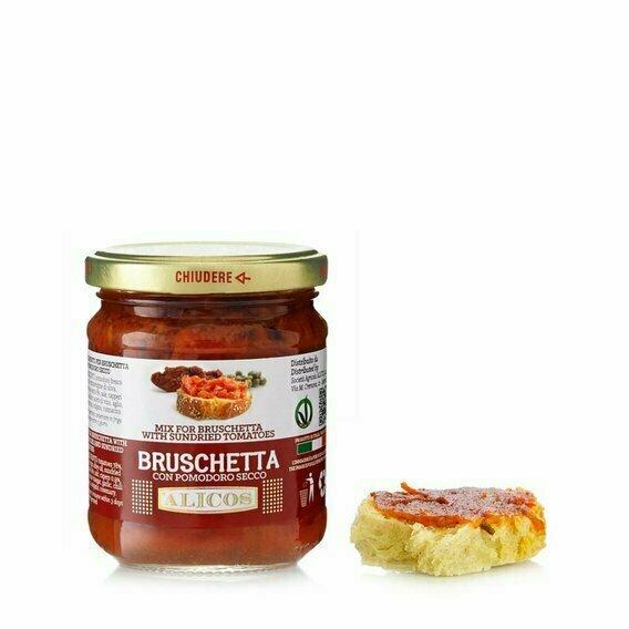 Sauce tomates séchées 180G