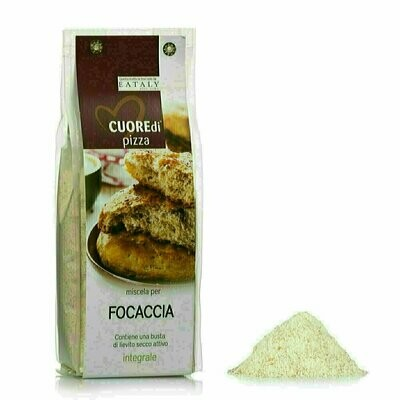 Preparation pour Focaccia au Blé Complet 500g