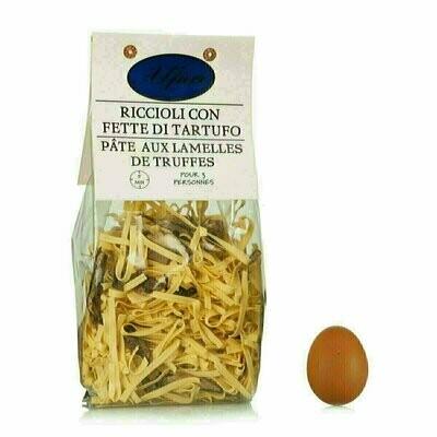 Riccioli aux œufs avec brisures de Truffe 250g