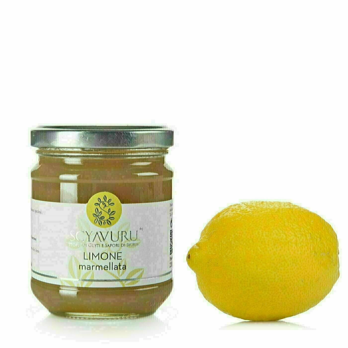 Confiture de Citrons Sans Pectine 220g