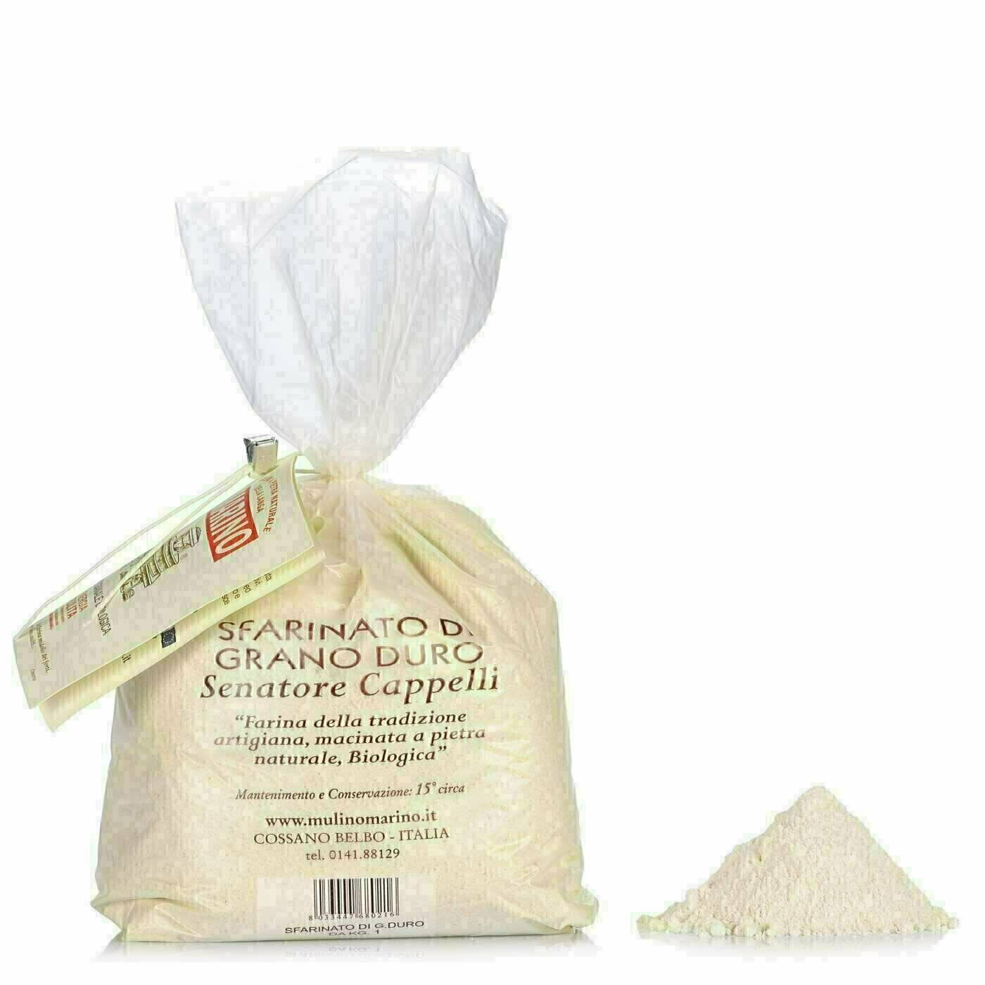 Farine Sfarinato de Blé Dur Bio 1kg