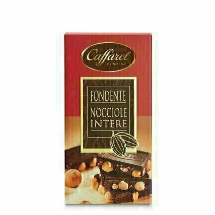 Tablette chocolat noir aux noisettes 150G