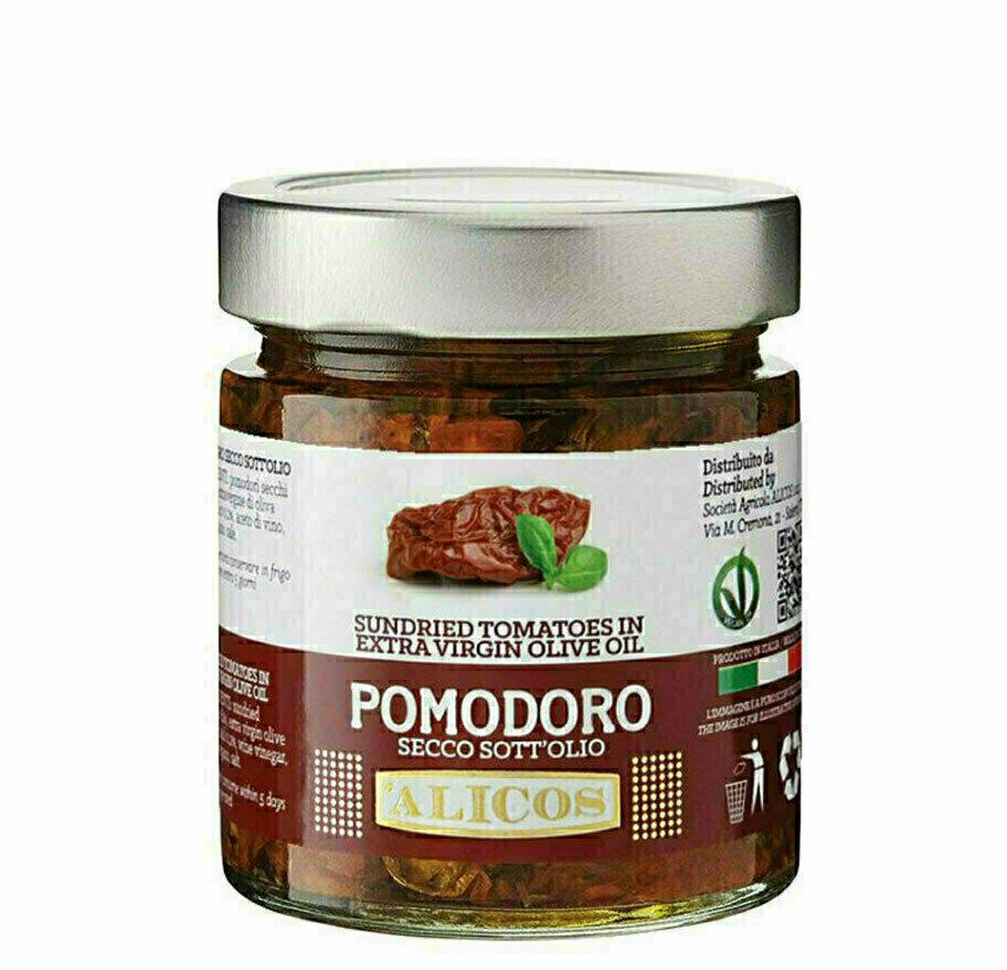 Tomates séchées à l'huile 190g