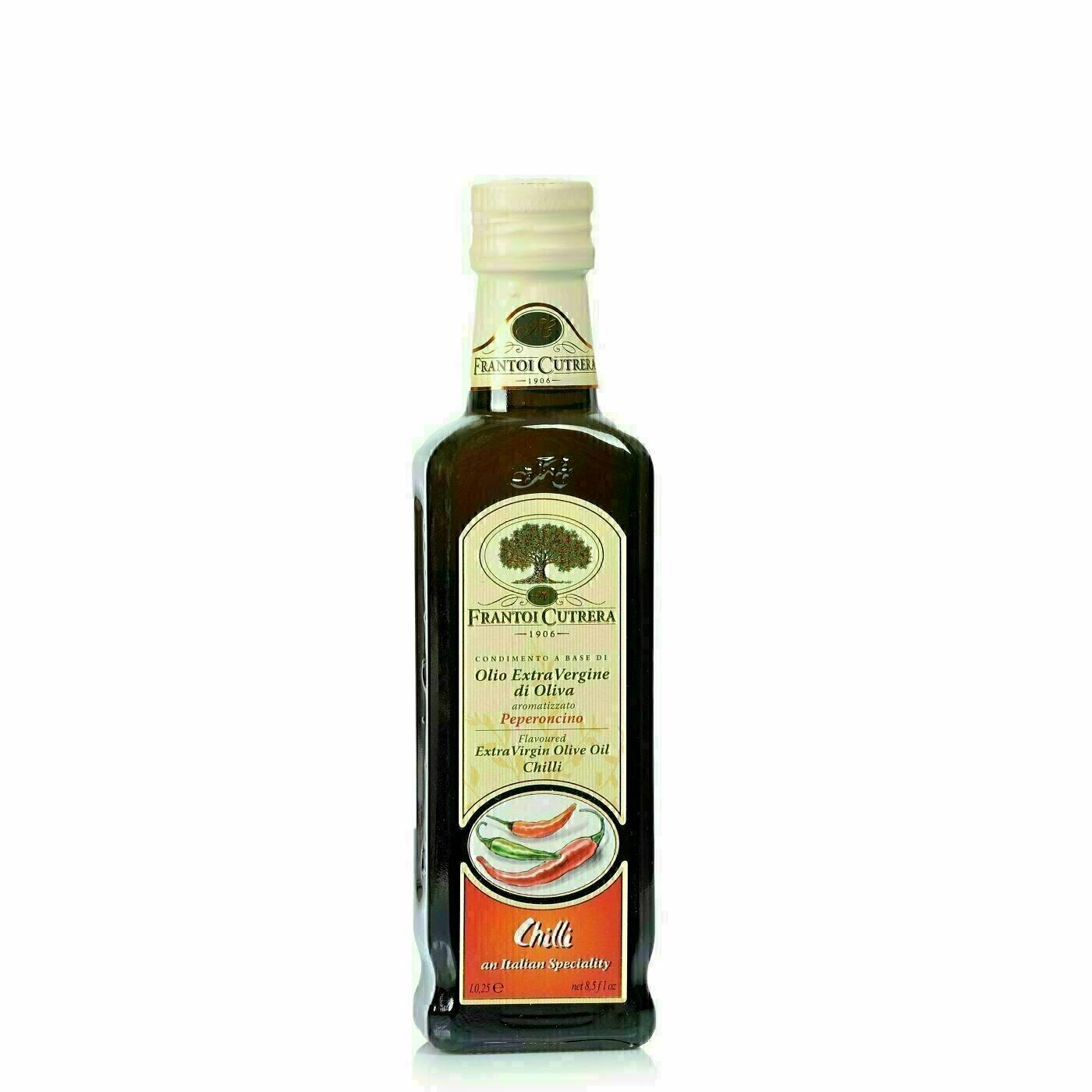 Huile d'olive extra vierge au Piment 25cl