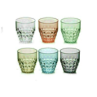 Set De 6 Verres Bas Tiffany