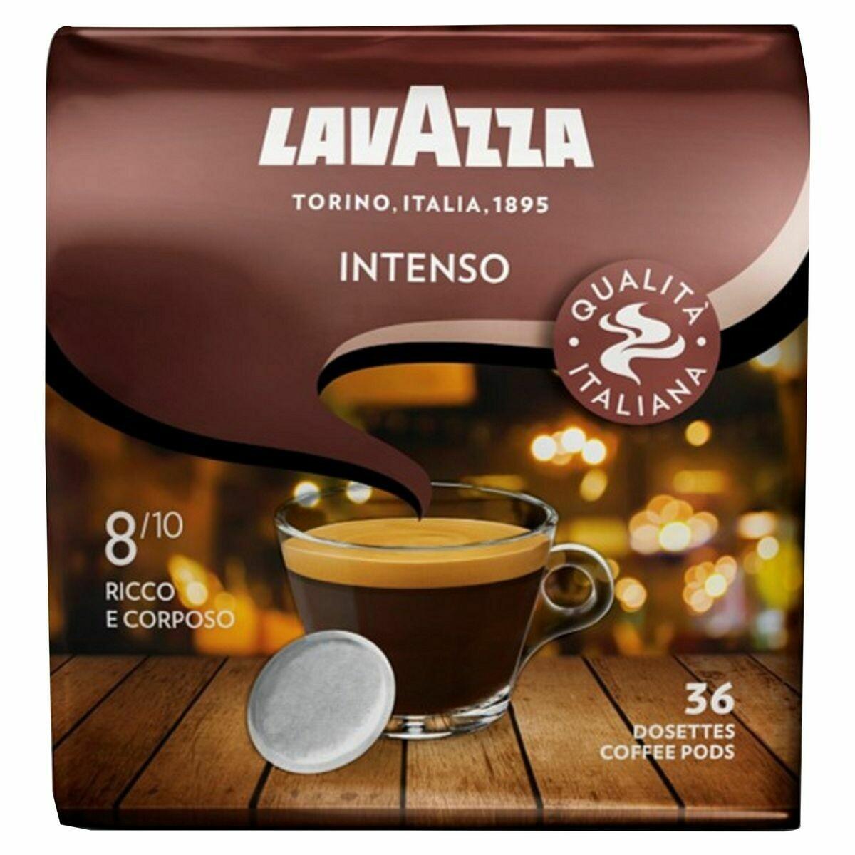 Café Lavazza intenso 36 dosettes