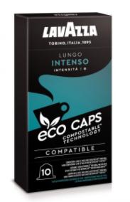 Café Lavazza eco caps lungo intenso 10 capsules
