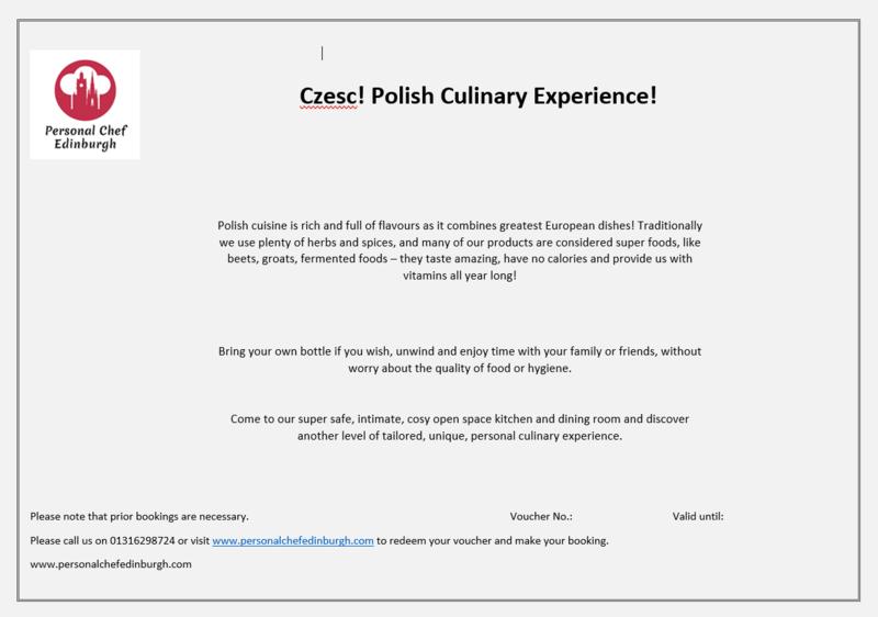 Czesc! Polish Culinary Experience!