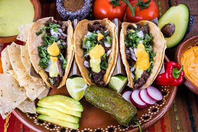 Mexican Street Tacos (single)