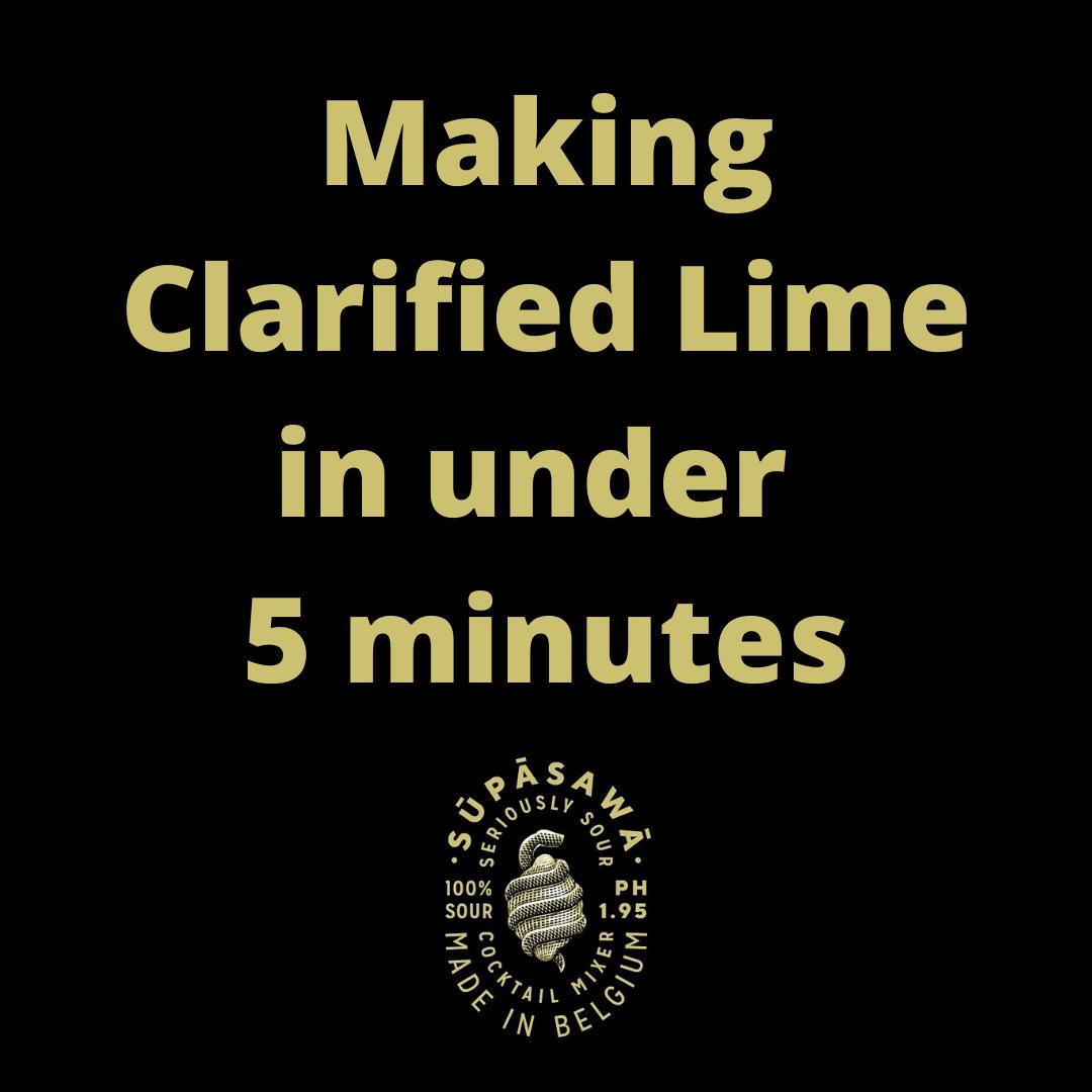 FREE RECIPE: Making Clarified lime using SŪPĀSAWĀ