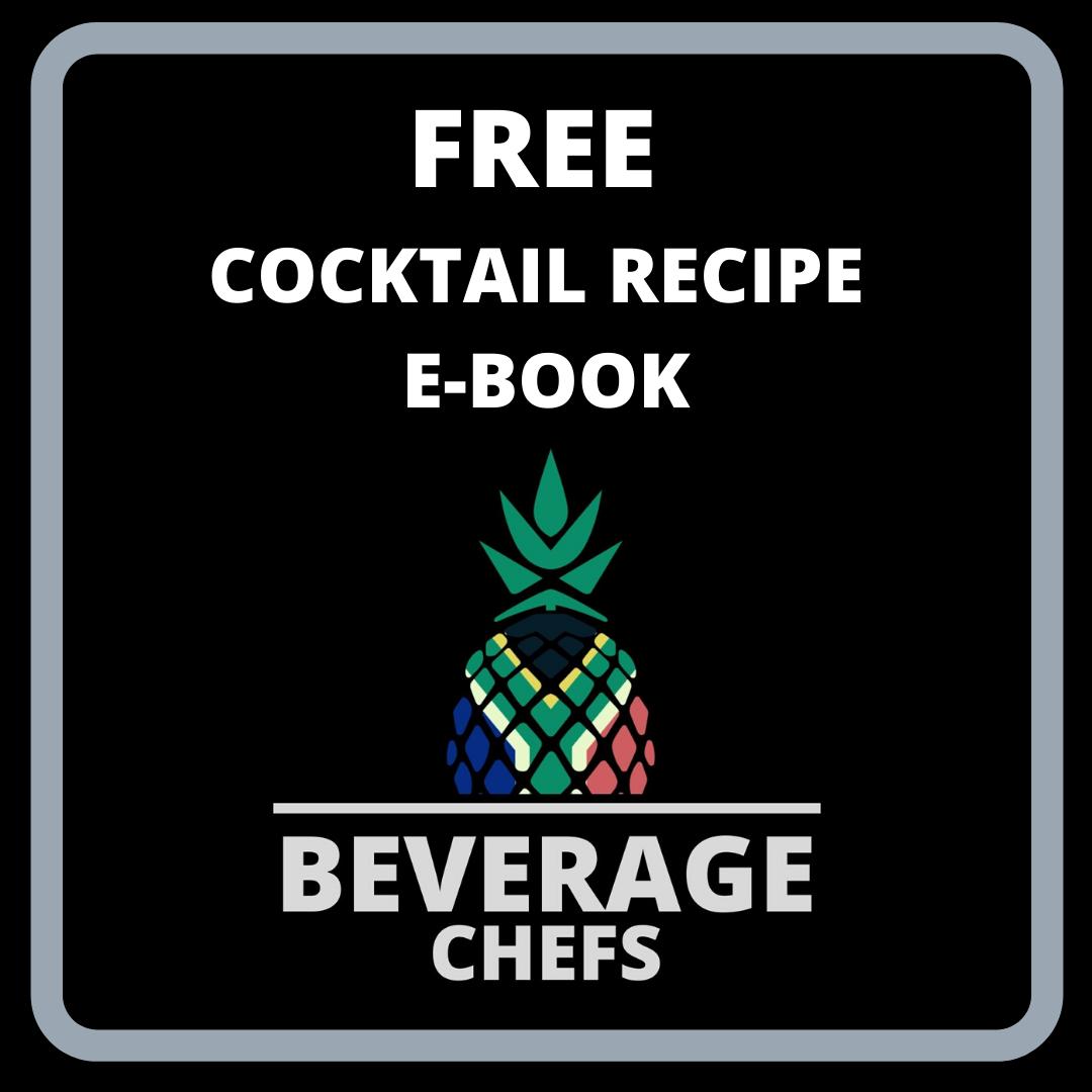 FREE cocktail Recipe E-Book!