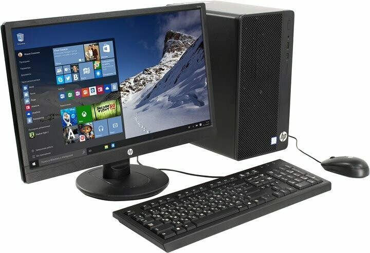 HP 290 G1 MT (MINI TOWER)- i3 processor- Windows 10 Home