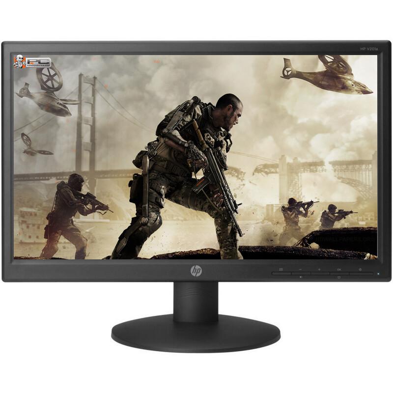"HP  19.45"" v201a, 19.45"" Monitor( 1 VGA Port)"
