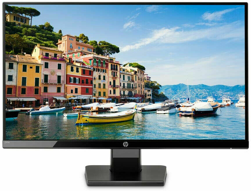 "HP 23.8"" 24fw Monitor ( 1 VGA Port, 1 HDMI Port)"