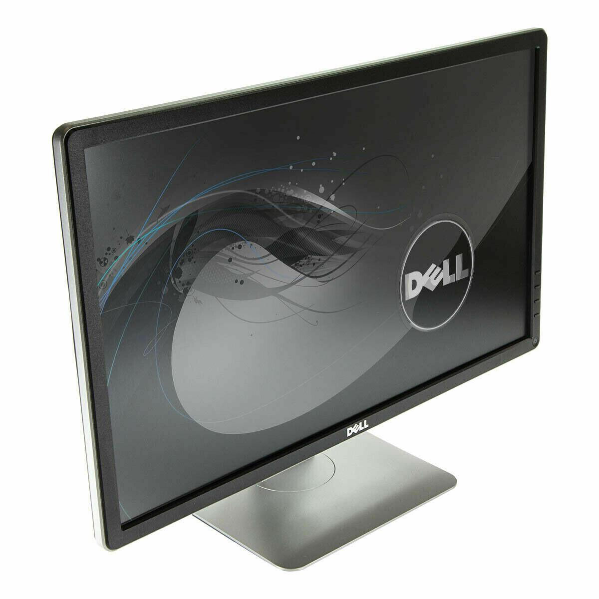 "Dell P2414H 24"" IPS Monitor Height Pivot Tilt Swivel Adjustable (Display, VGA & DVI Ports)"