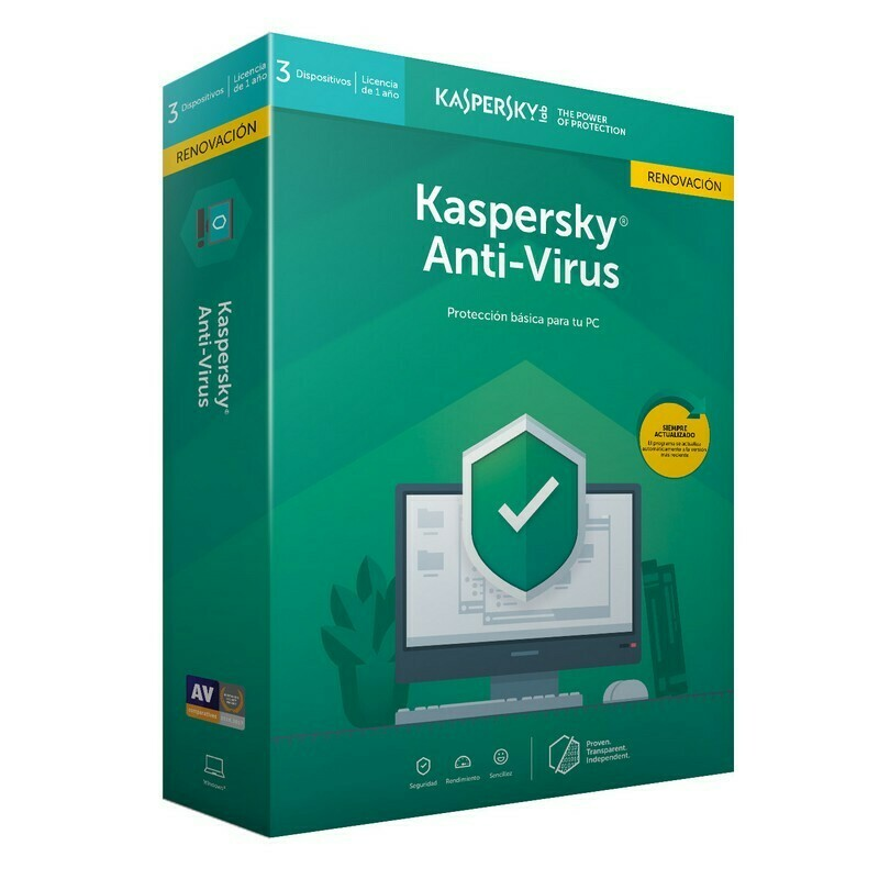 Kaspersky Anti-Virus, 2020, 2 Users