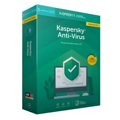 Kaspersky Anti-Virus, 2020, 2 Users