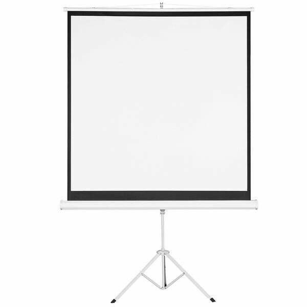 """Tripod stand projector screens 60"""" by 60"""""""