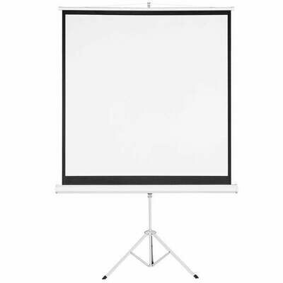 Tripod stand projector screens 60