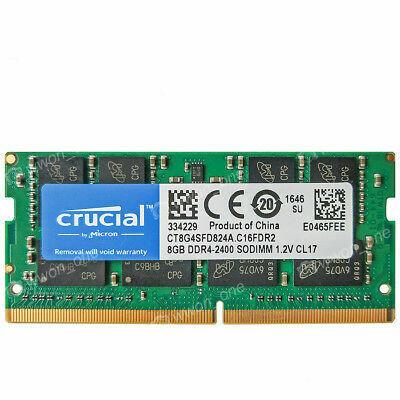 CRUCIAL 8 GB DDR4 Internal memory laptop 2400 MHZ