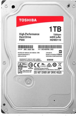 TOSHIBA  (7200 RPM)  Internal desktop hard disk 1TB