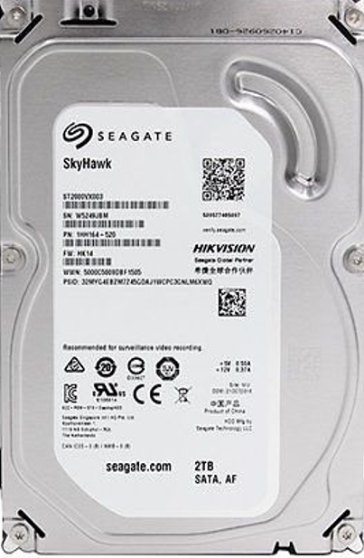 seagate surveillance  (7200 RPM)  Internal desktop hard disk 2TB