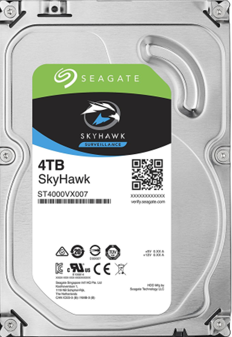 seagate surveillance  (7200 RPM)  Internal desktop hard disk 4TB