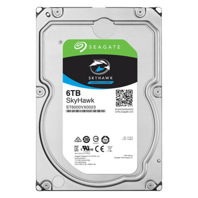 seagate surveillance  (7200 RPM)  Internal desktop hard disk 6TB