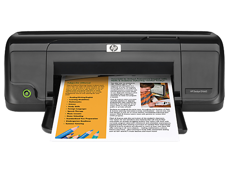 HP DESKJET D1660- STAND ALONE PRINTER- 20B-16C-  HP 300 B and C