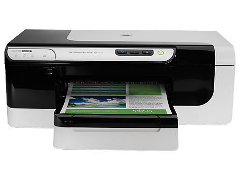 HP OJ PRO 8000-STAND ALONE  PRINTER-14B-11C-HP 940 B & 933 C