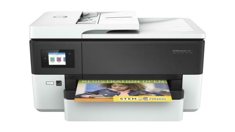 HP OJ  7720-PRINT-SCAN-COPY-FAX-A3 WIDE FORMAT (ADF)- WIFI ( Scane's A4)-33B-29C