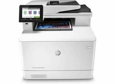 HP LJ PRO 400 MFP M479FNW-PRINT - SCAN - COPY -FAX  - NETWORK-WIRELESS-HPM477NW-27B-27C