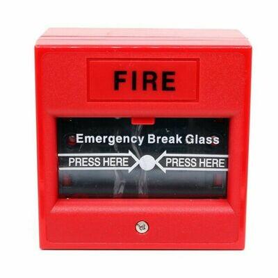 Fire Exit Break Glass Switch