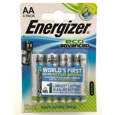 ENERGIZER  (AA) 4 PACK BATTERY