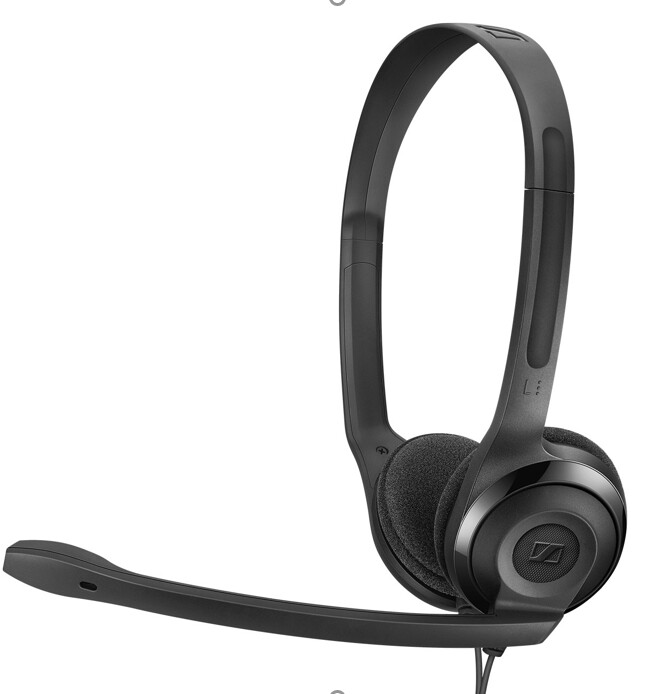 Sennheiser Headset PC 5 CHAT(508328) For Internet Communication,E-learning and Games